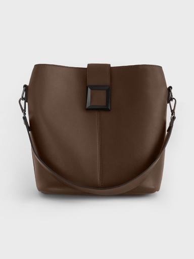 Вместительная сумка c коротким плечевым ремнем