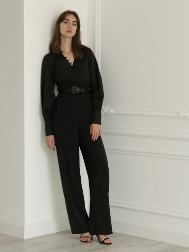 Palazzo pants complete with belt
